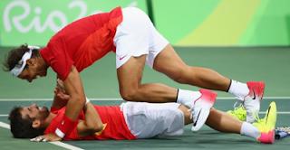 Marc Lopez y Rafa Nadal oro dobles tenis juegos Rio 2016