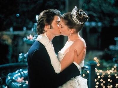 Mia's love scene in The Princess Diaries (2001)