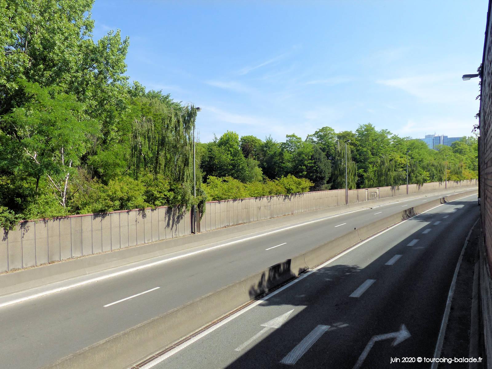 Voie Rapide Urbaine VRU 656, Tourcoing, 2020