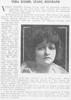 Vera Sisson Article