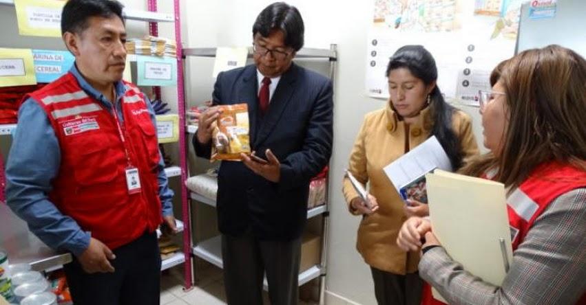 QALI WARMA: Autoridades de Puno verifican en las escuelas calidad del servicio alimentario - www.qaliwarma.gob.pe