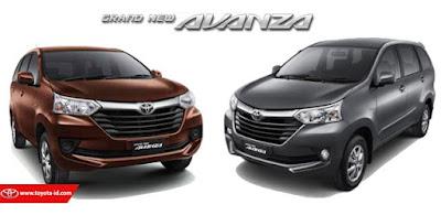 Toyota Avanza tipe 1.3 E MT