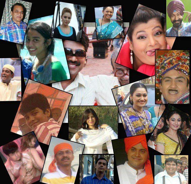 Tarak mehta ka ooltah chashmah cast Celebration