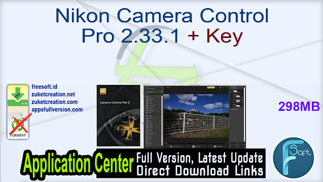 Nikon Camera Control Pro 2.33.1 + Key