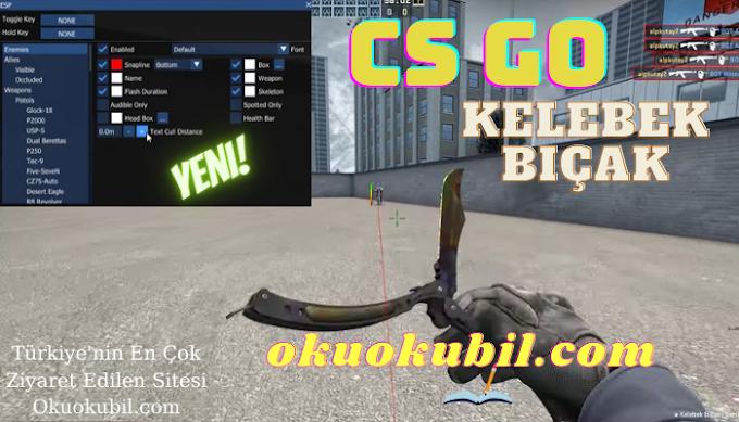CS GO: Kelebek Bıçak, Butterfly knife Hilesi İndir 2021