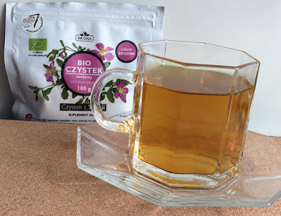 Napar z suszu BIO czystka, herbatka
