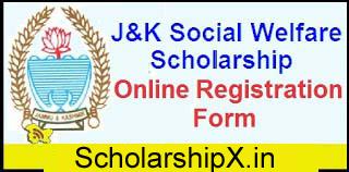 Jammu & Kashmir Scholarship
