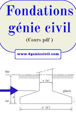 Cours de fondations génie civil - pdf