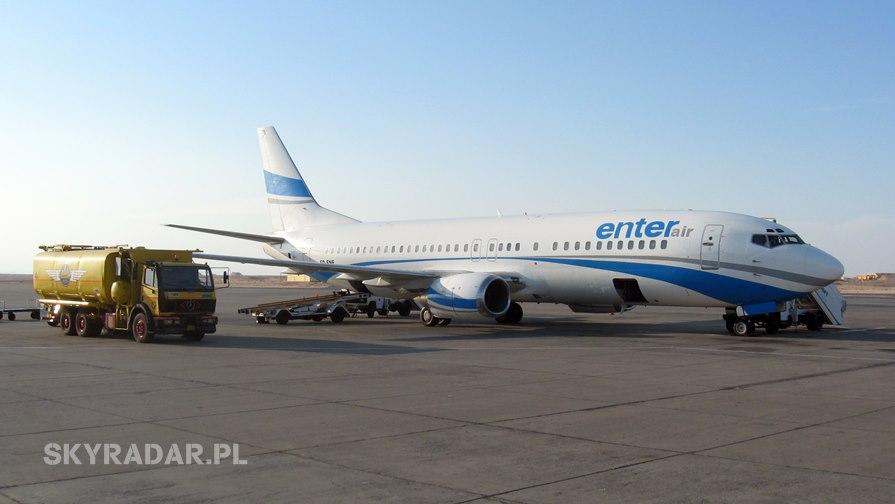 SP-ENF - Boeing 737 - Enter Air