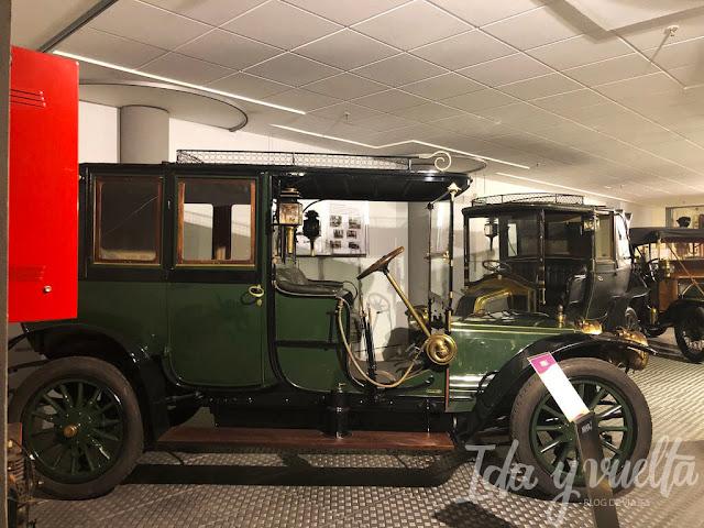 Museo de Historia de la Automoción coches para viajar