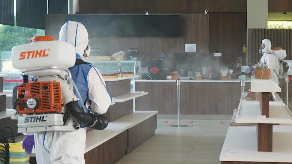 成美文化園超前部署全園消毒 力拼景點防疫模範生