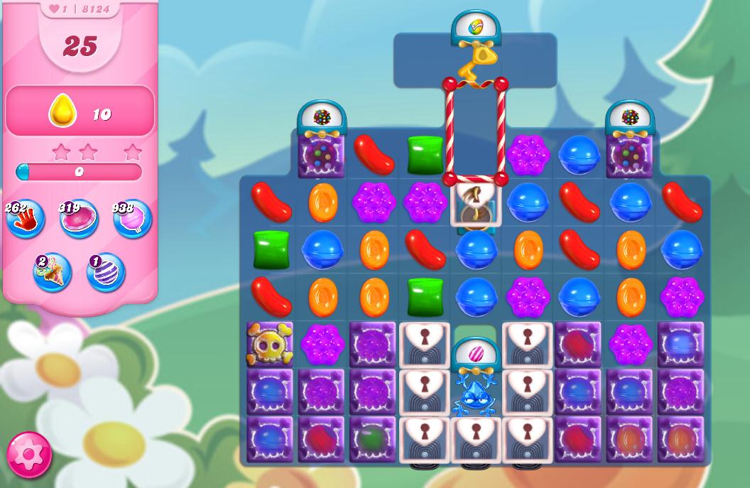 Candy Crush Saga level 8124