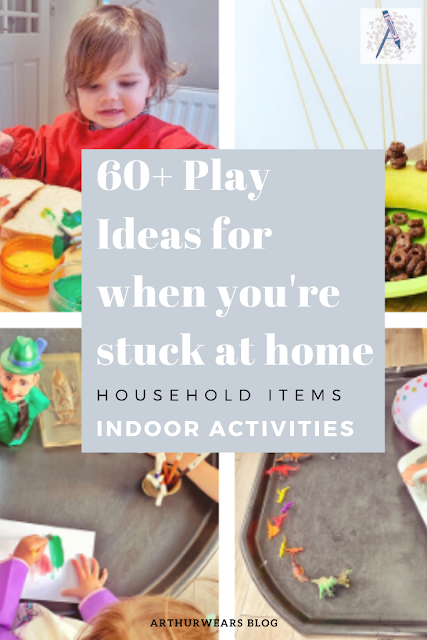 play ideas for when you're stuck at home indoors