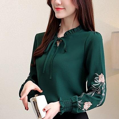 Model Baju Atasan Wanita Lengan Panjang Terbaru 2020 Model Baju