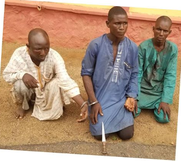 3 Herdsmen Arrested For Stabbing A 40-Years-Old Farmer To Death In Ogun