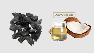 Coconut oil Charcoal Toothpaste