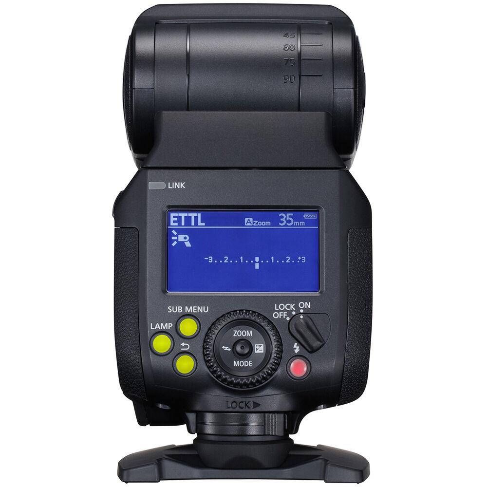 Canon Speedlite EL-1, вид сзади