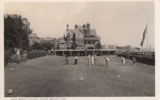 Jack Nunn's Putting Green, Broadstairs. Sunbeam Photo Ltd., Thanet. Postally unused. Undated