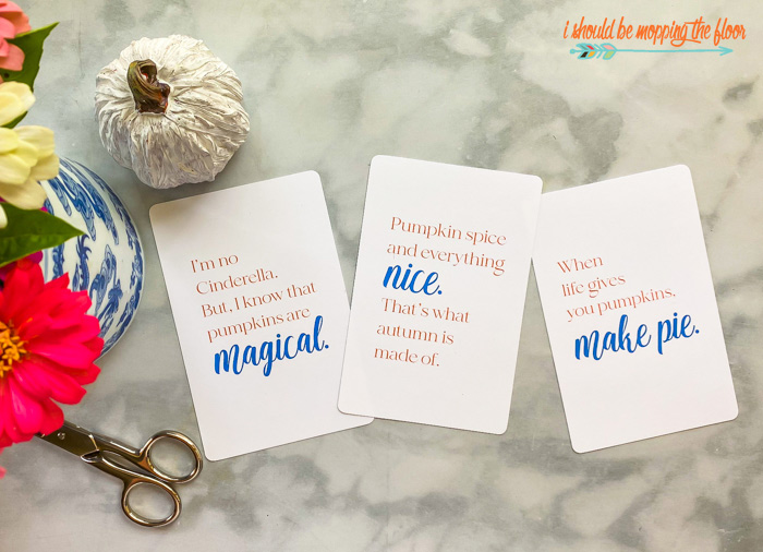 Free Printable Pumpkin Quotes