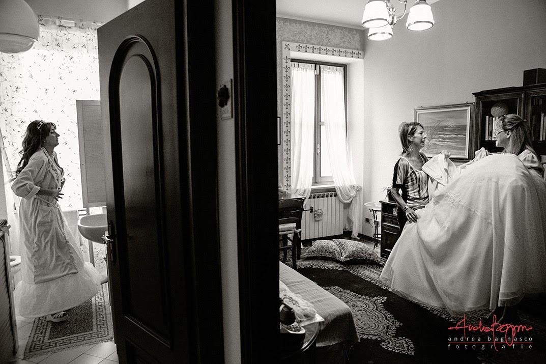 preparazione sposa matrimonio Millesimo