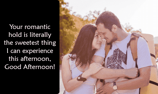 good afternoon romantic image