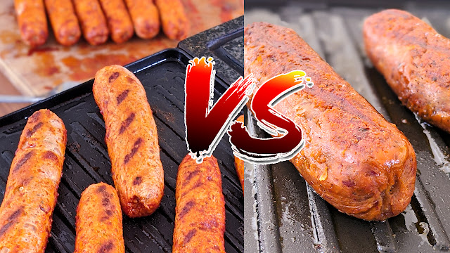 recette, merguez de poulet, merguez vegan, recipe, sausage, chicken