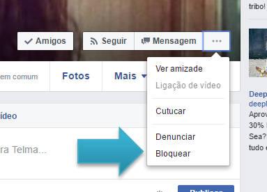 Como bloquear amigos no Facebook
