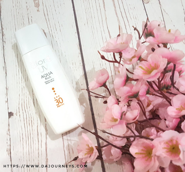 [Review] Biore UV Aqua Rich Watery Jelly SPF 30