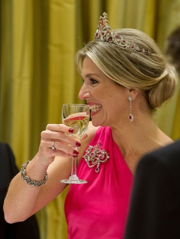Banquet For Queen Maxima And King Willem-Alexander During Their Canada Visit