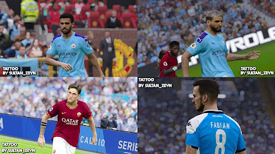 PES 2020 Tattoopack by Sultan_Zeyn
