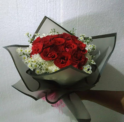 contoh handbouquet untuk pacar