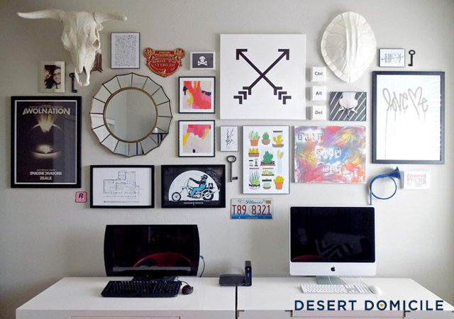 Office Gallery Wall | Desert Domicile