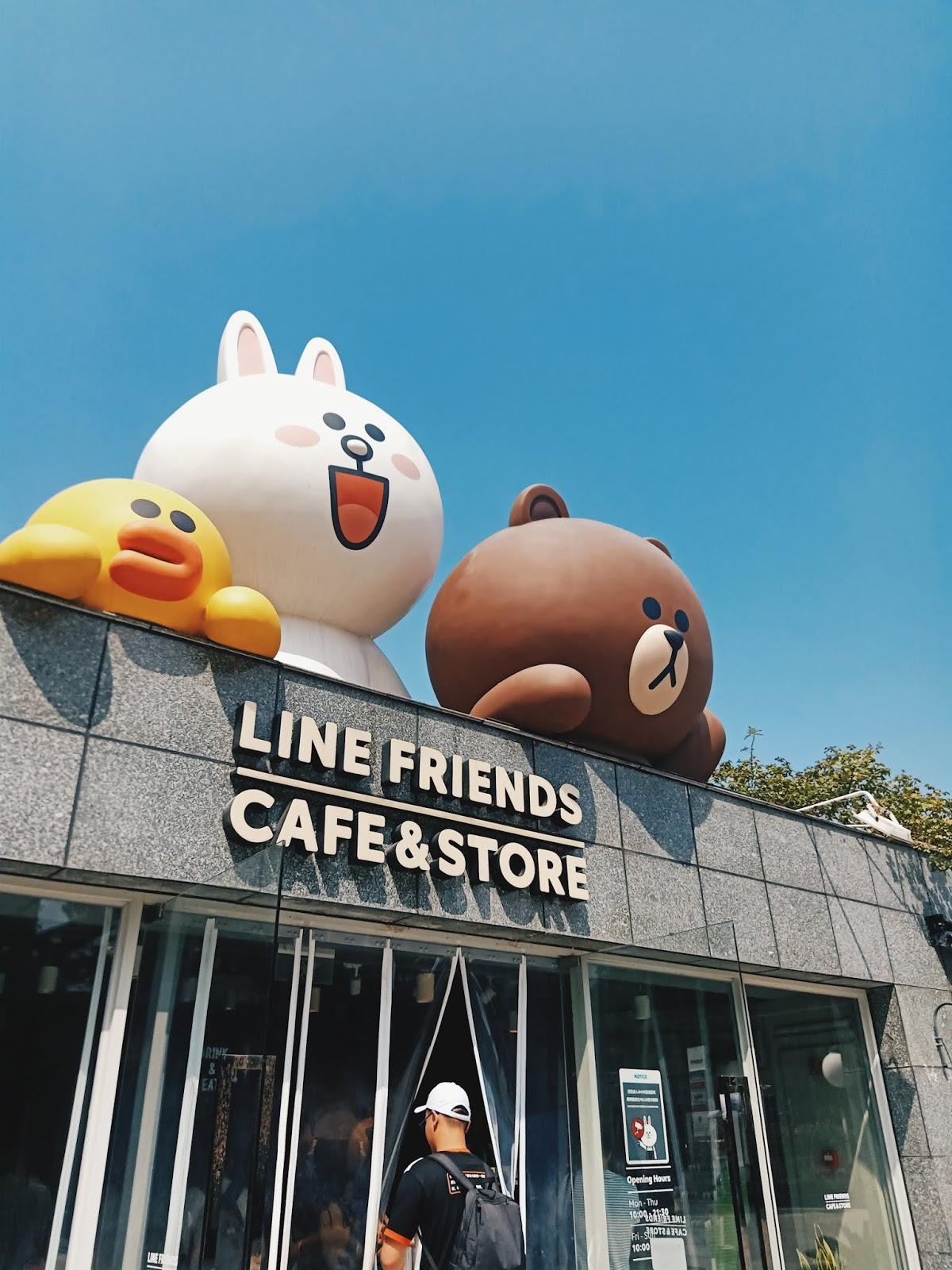Line Cafe, Nanjing