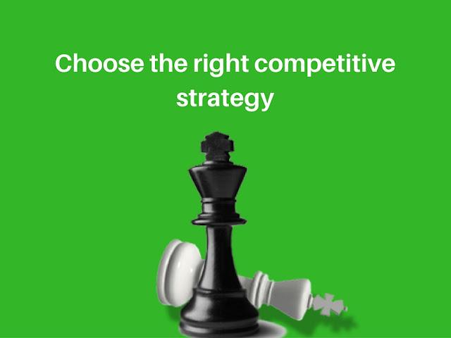 انسب طريقة لتحديد أستراتيجيتك التسويقية التنافسية