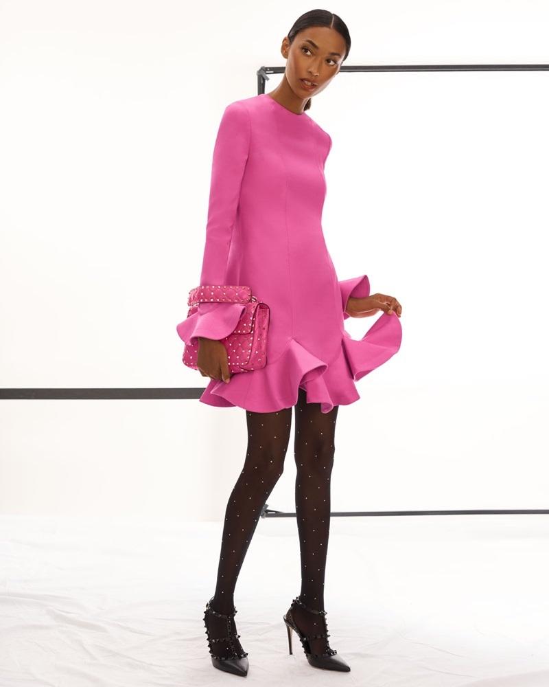 La colección Pre-Fall 2018 de Valentino incluye preciosos vestidos ...