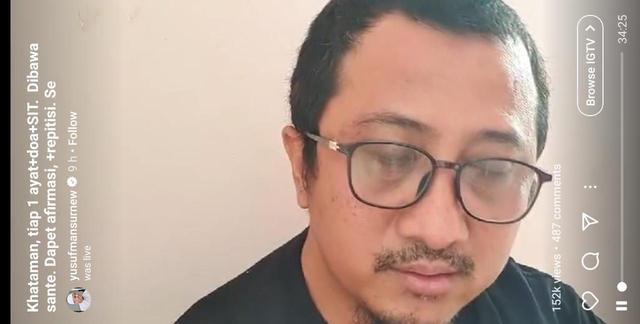 Innalillahi, Ustadz Yusuf Mansur Telah Dinyatakan Positif