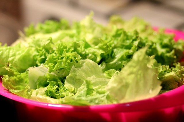 Torn Salad Greens