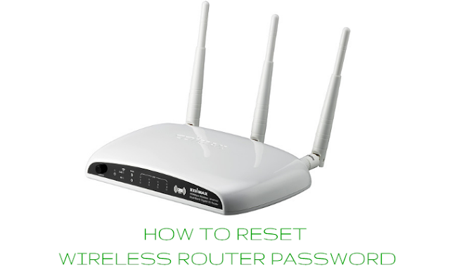 How to reset wireless router password