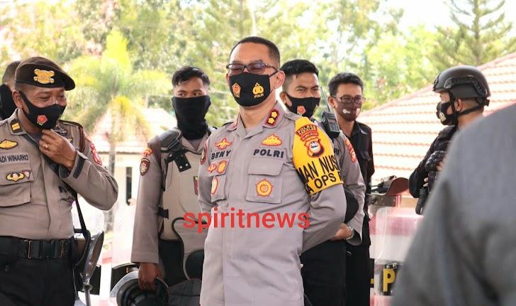 Kapolres Takalar Pimpin Langsung Pengamanan Hak Interpelasi di DPRD Takalar