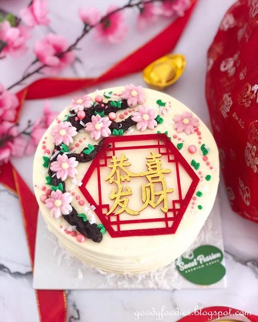 Sweet Passion Premium Cakes CNY  2021