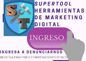 Supertool tiene herramientas digitales que no puedes dejar de tener en tu marketing online para Pyme y emprendedor en línea