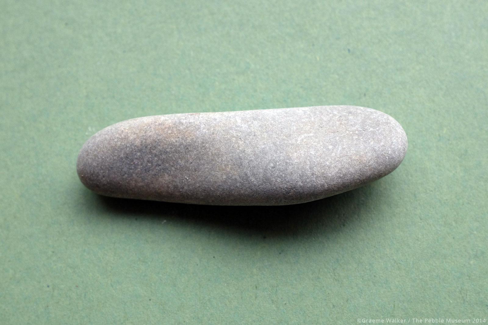 Smooth Grey Pebble © Graeme Walker / The Pebble Museum 2019