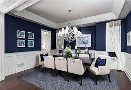 warna cat Putih dan Biru Navy