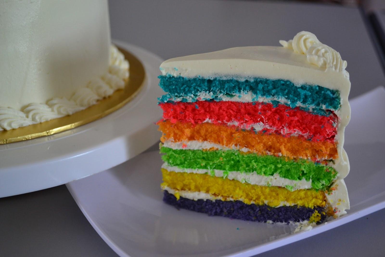 Rainbow Cake Recipe Italian: Elianas Homemadecake :): KELAS DIY BERSAMA SITI