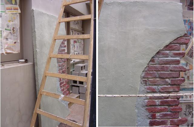 imitacion de paredes, realizacion de escenografia, escenografia para filmaciones, ambientaciones
