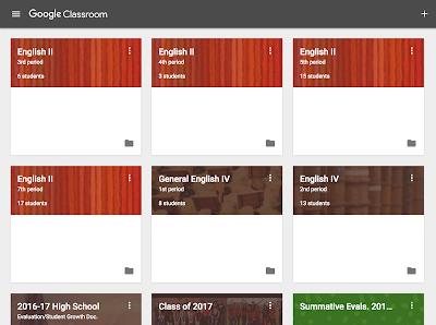 Google Classroom classes  www.traceeorman.com