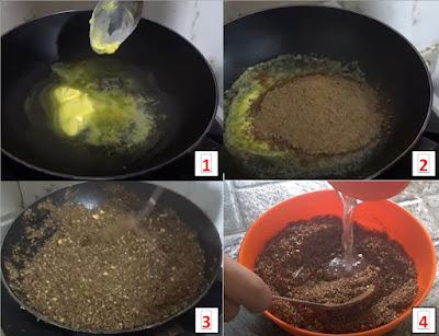 Umpan Pelet Goreng/Sangrai Ikan Mas Sangat Ampuh