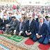 بالصور| المحافظ والقيادات الامنية يؤدون صلاة عيد الاضحى المبارك بالاستاد الرياضى بمشاركة اكثر من 5 الاف مصلى