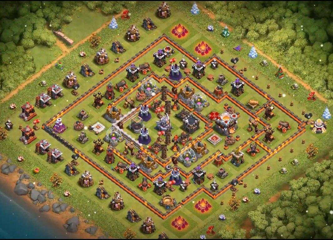coc th11 farming base