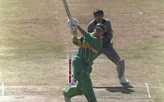 Gary Kirsten 188* - South Africa vs UAE 2nd Match Wills World Cup 1996 Highlights